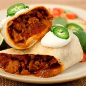 Chicken Chili Burritos