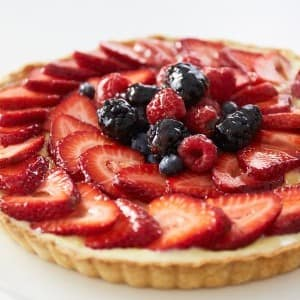 Recipe: Traditional Glazed Fruit Tart with Tara O'Brady