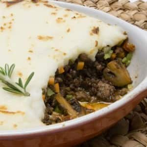 Meat-and-Potato Lovers' Shepherd's Pie