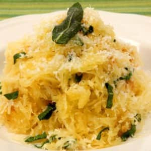 Spaghetti Squash with Herb Butter