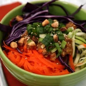 Recipe: Raw Vegan Pad Thai