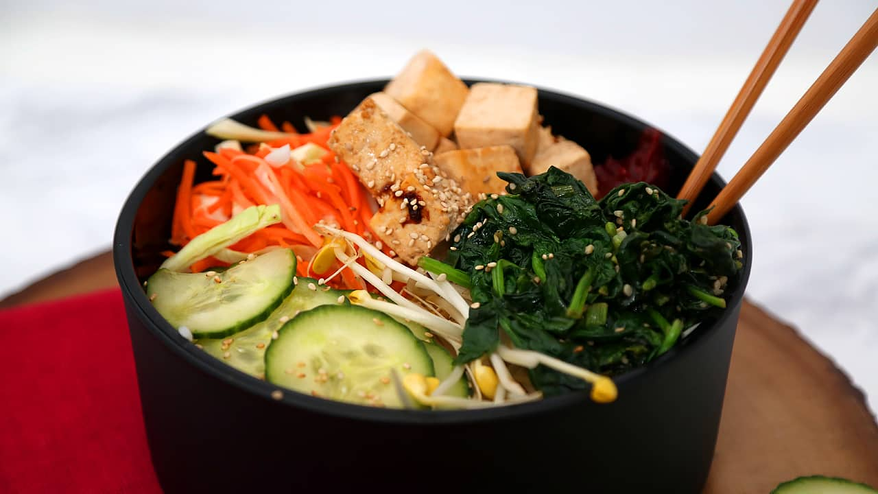 Recipe: Vegan Bibimbap
