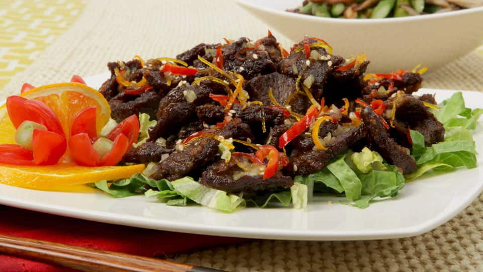 how to cook crispy chilli beef