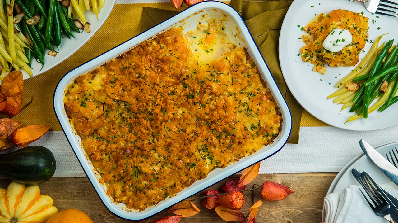Recipe: Cheesy Crunchy Potato Casserole