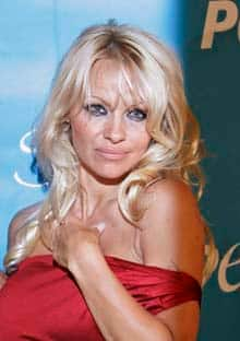 Pamela Anderson, seen here at her 40th birthday party in June, married for the third time Saturday night. Her last marriage, to singer Kid Rock, lasted four months in 2006.