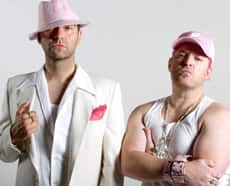 ... as Feminem and T-Bag, are stars of the gay hip hop opera Bash'd.