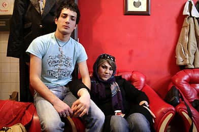 A picture of Ali Askar, left, prior to his sex-change transformation into ...