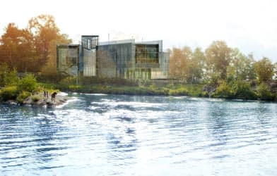 Living with Lakes Centre is a centre for freshwater restoration in Sudbury, Ont. (Laurentian University)
