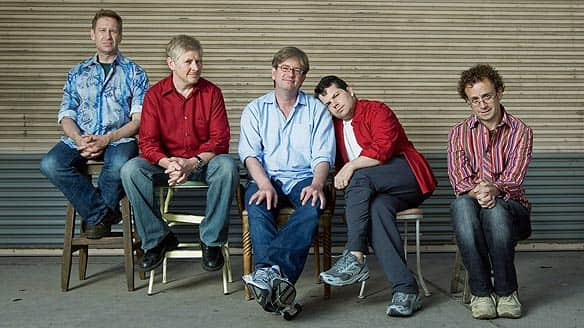 The Kids in the Hall (left to right), Scott Thompson, Dave Foley, Mark McKinney, Bruce McCulloch and Kevin McDonald, are to write the new show.