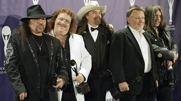 The band Lynyrd Skynyrd,