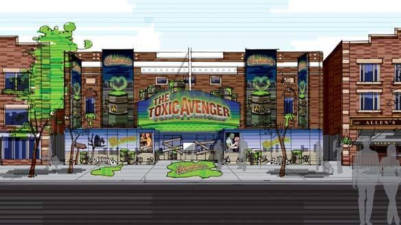 toxic avenger comedy musical coming to toronto arts