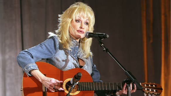 Singer-songwriter Dolly Parton has released an album and DVD package titled Live from London.