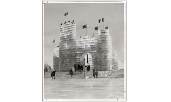 Ice Palace at Lachine, Que. (circa 1928), photographer unknown.