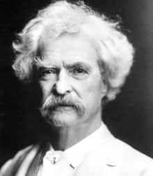 Author Mark Twain, born Samuel Langhorne Clemens, is shown in this undated portrait released by The Mark Twain House & Museum.
