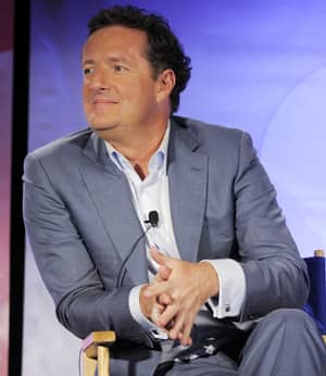 Piers Morgan, seen in Pasadena, Calif., in 2010, will interview Oprah Winfrey for the debut of his new CNN show.