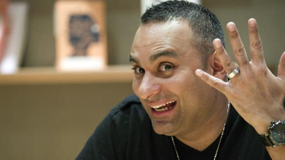 Russell Peters Wedding Comedian Russell Peters