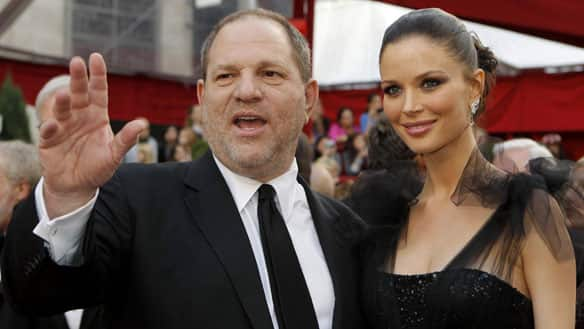 Film producer Harvey Weinstein arrives at the Academy Awards on March 7, 2010 with his wife, Georgina Chapman. CBC's <b>Margo Kelly</b> talks to Canadian documentary maker Barry Avrich, who explores his career in Unauthorized Harvey Weinstein. (Brian Snyder/Reuters)