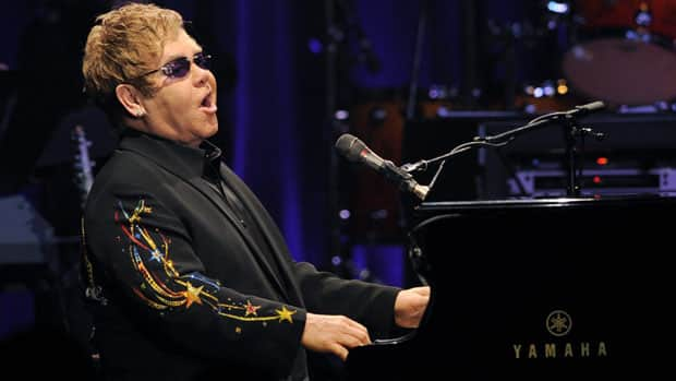 British singer Elton John performs on Nov. 3, 2010. He'll play on the Plains of Abraham this July.