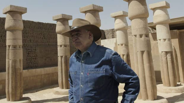 Egyptian Minister of State for Antiquities Zahi Hawass opened seven tombs in the New Kingdom cemetery to visitors on Monday.
