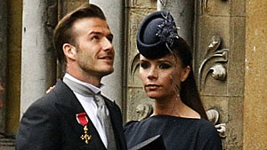 David Beckham and his wife Victoria have three other children, all of them boys.