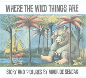 Sendak received first billing with Where the Wild Things Are, published in 1963.