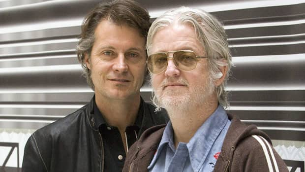 Jim Cuddy, left, and Greg Keelor formed Blue Rodeo in 1984. The band will be inducted into the Canadian Music Hall of Fame in April.