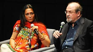 Deepa Mahta and Salman Rushdie spoke about Midnight's Children at TIFF in 2011.