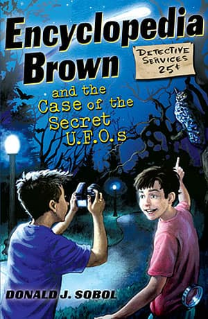 Sobol's latest Encyclopedia Brown tale, The Case of the Secret U.F.O.'s, was published in Oct. 2011. He has two instalments forthcoming this October.