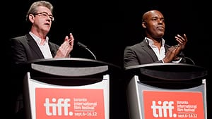 TIFF is increasingly becoming a key gathering place for the international film industry, according to TIFF CEO Piers Handling, left, and artistic director Cameron Bailey.