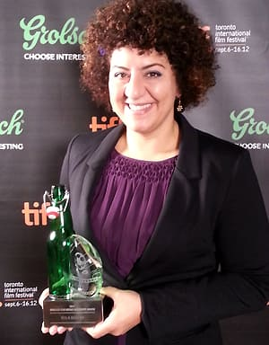 Detroit filmmaker Rola Nashef won the inaugural TIFF Grolsch Film Works Discovery Award, which carries a $10,000 prize.