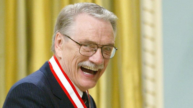 George Bowering, seen in Ottawa in 2003, is a finalist for the B.C. National Award for Canadian Non-Fiction for Pinboy, a memoir of his adolescence.