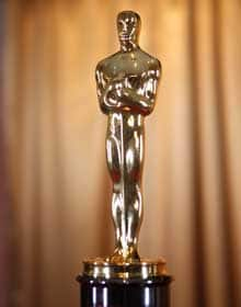 The company that makes the Oscar statuette is laying off 95 people, ahead of a takeover by a Canadian company.
