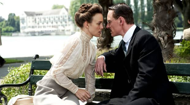 A Dangerous Method has five nominations, including best director for David Cronenberg. It stars Keira Knightley and Michael Fassbender.