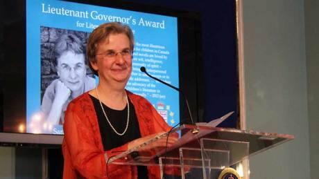 Lorna Crozier, Sarah Ellis honoured at B.C. book prize gala