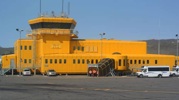 The airport in Iqaluit is one that will soon see tougher screening for packages and parcels.