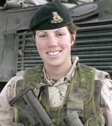 Capt. Nichola Goddard was serving as a forward observer with the Princess Patricia's Canadian Light Infantry in Afghanistan.