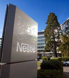 The headquarters of Swiss food and beverage giant Nestle.