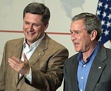 Harper and Bush