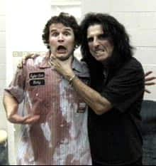 Kyle Macdonald and Alice Cooper