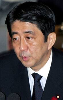 Prime Minister Shinzo Abe hopes to improve relations with Japan's neighbours.