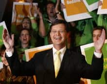 Dutch Prime Minister Jan Balkenende, a Christian Democrat, has headed four coalition governments since 2002, but none lasted a full term.
