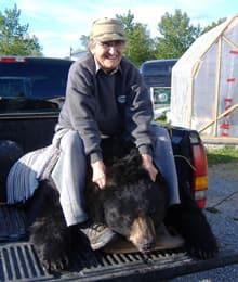 Cecilia Smith, 87 (and deceased bear)
