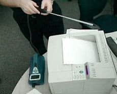 Laser printers emit micro-particles that can affect air quality, researchers say.