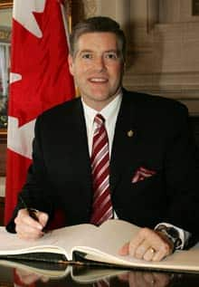 MP Blair Wilson resigned Sunday from the Liberal caucus.