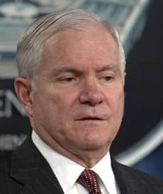 U.S. Defence Secretary Robert Gates once criticized NATO forces for not knowing how to deal with insurgencies. Then said he wasn't referring to Canada. (Associated Press)