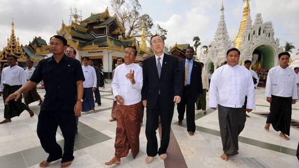 UN chief 'very upset' after touring Burma devastation - World ...