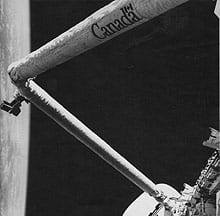 The Canadarm was chosen as Canada's defining accomplishment.