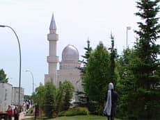 The Ahmadiyya Muslim mosque in Calgary took two years to build and cost $15 million.