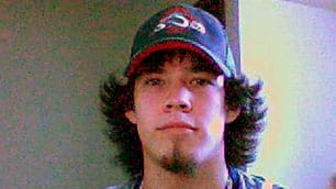 Tim McLean, shown in a photo taken from his MySpace page, struggled to escape his attacker and 'was at one point fighting back,' according to witness Stephen Allison.