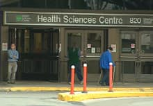 A man was found dead in an emergency department waiting room, 34 hours after arriving at Winnipeg's Health Sciences Centre.